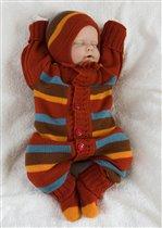 Костюм для новорожденных Осенняя Радуга