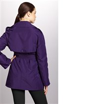 KENNETH COLE NEW YORK Double-Breasted Trench with