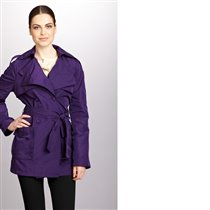 KENNETH COLE NEW YORK Double-Breasted Trench