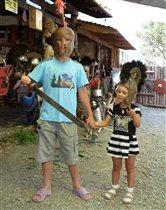 Доблестные воины :)
