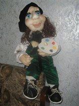 Кукла художник
