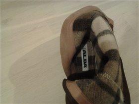 Сапоги ALBA замшевые, 36 р.,одеты один раз,1500 р.