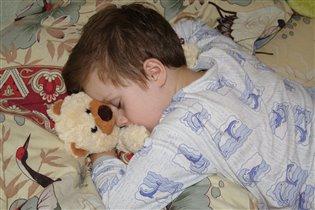 Сладкий сон с любимым другом