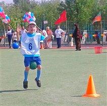 Соревнования 'Папа, мама, я - спортивная семья'