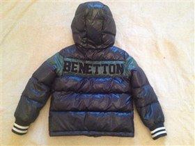 Пуховик Benetton