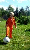 Будущий футболист! Папина гордость!