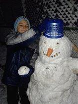 первый снег 2013 г.