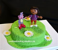 Торт Даша путешественница