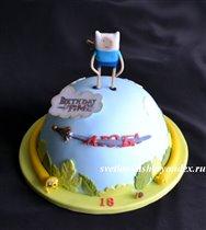 Торт любителям Adventure Time