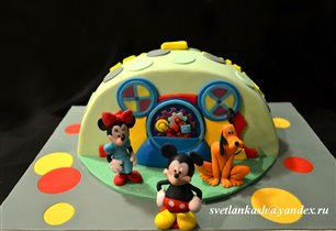 Торт Клуб Микки Мауса