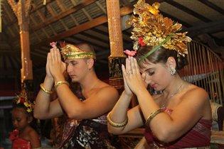 Оригинальная королевская свадьба на Бали
