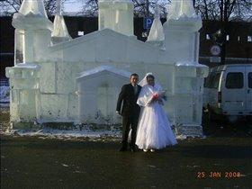 Новогодняя свадьба дочери.