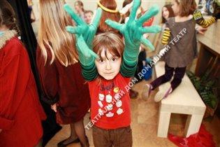 Детская театральная студия, спектакль