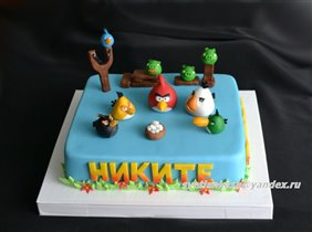 Торт Angry birds