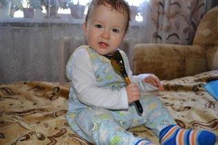 Егорка и его большая ложка
