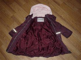 Lenne пальто+штаны девочке 92 размер, 3000=