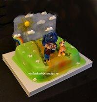 Торт По дороге с облаками
