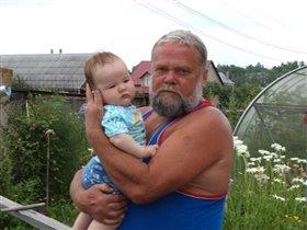 Егор с дедом
