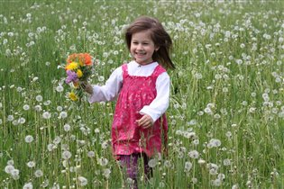 цветочная прогулка.
