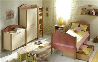 Кроватка для принцессы (расцветка такая)