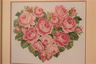сердце из роз для Светланки)