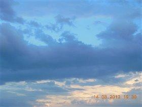 небо голубое