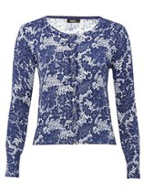MAndCo floral lace cardigan