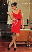 Красное платье 46р