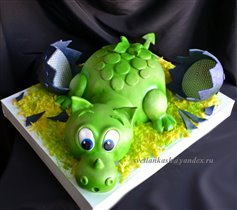 Торт Дракоша