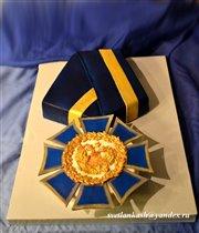 Торт Орден почёта учителю