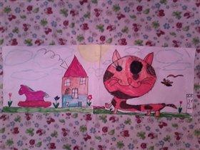 Милый котик! Галиуллин Анвар,4 года
