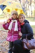 Листопад, листопад, Листья желтые летят.