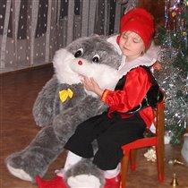 Зайка, разбуди меня, если Дед Мороз придёт...