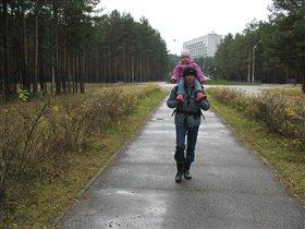 Прогулки в осеннем лесу.