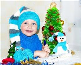 Пишу письмо Деду Морозу)))