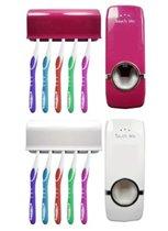 Автоматический дозатор для зубной пасты и держател