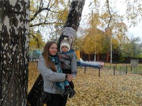 Листопад, листопад, Листья желтые летят...
