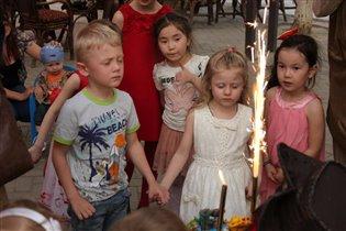 Настюше и Димочке 5 лет