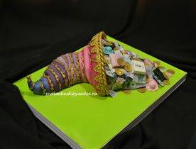 Торт Рог изобилия женщины