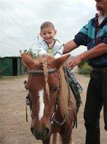 катание на пони Капельке
