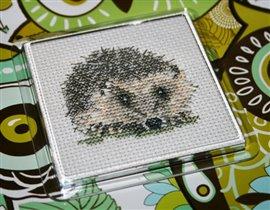 Hedgehog coaster - Heritage