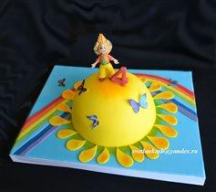 Торт Незнайка на Солнце