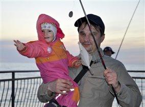 Любим рыбачить!!!