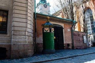 Гамла Стан, первый общественный туалет (действующи