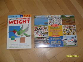 Книга с многоразовыми стикерами (транспорт)