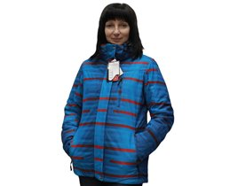 Куртка горнолыжка полосатик:)