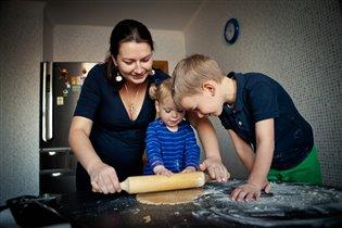 Кулинарим вместе с мамой!