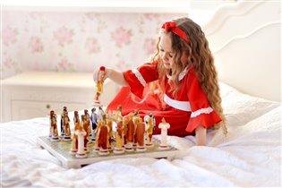 Веточка играет в шахматы