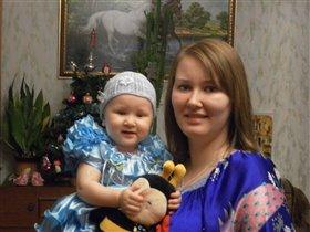 Мелисскин первый Новый год.