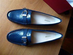 Синии макасины Bal*ni, маркерованы 38 р-р